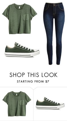 """Untitled #368"" by cuteskyiscute on Polyvore featuring Converse"