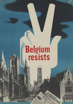 During WWI Belgium was able to fight back the German invasion trying to get into France. Belgium held quite a resistance as depicted in this piece of propaganda. They came out as champions halting the Germans from gaining Paris all the while continuing to promote peace by staying neutral throughout the war.