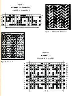 Mosaic Knitting Barbara G. Walker (Lenivii gakkard) Mosaic Knitting Barbara G. Walker (Lenivii gakkard) #70