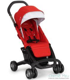 Nuna Pepp Luxx lightweight stroller - Scarlet