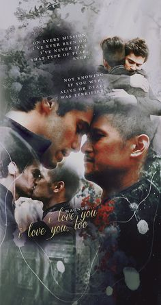 MOST BEAUTIFUL MOMENT EVER!!!! THE FEELS!!! THE KISSING, HUGGING, FOREHEAD-TOUCHING, CONFESSING!!! THEY SAID I LOVE YOU TO EACH OTHER!!! I CAN'T!!! ☆*:.。.o(≧▽≦)o.。.:*☆ MALEC HAS KILLED BUT THEN REVIVED ME!!!!! MALEC FOR LIFE AND AFTER-LIFE!!!!