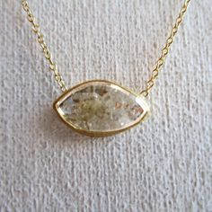 Sarah Perlis Jewelry — diamond slice necklace