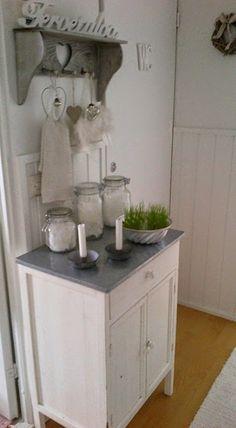 Shabby and Charme: Dettagli shabby chic  in una bella casa finlandese...