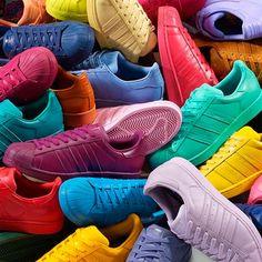 Tênis coloridos!
