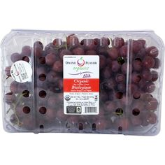Devine Flavor Organic Seedless Red Grapes