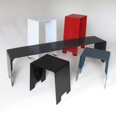 New Zealand's Leading Online Design Store. Chris Johnson, Clever Design, Furniture Collection, Bar Stools, Bench, Dining Table, Outdoor Furniture, Blue, Home Decor