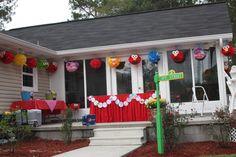 """Photo 23 of Elmo & Sesame Street / Birthday """"Ivy Loves Elmo"""" Baseball Theme Birthday, Girl 2nd Birthday, Elmo Birthday, Birthday Ideas, Monster Birthday Parties, Elmo Party, 3rd Birthday Parties, Elmo Sesame Street, Sesame Street Birthday"""