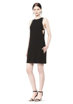 EXPOSED LAYER CAMISOLE DRESS - Women Short Dresses - Alexander Wang Official Site