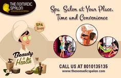 #Spa #Salon At Home!!  Are you facing the problem to go #parlor?? Just Call @ 8010135135 and book your #appointment at your home. Now we provide service in #Noida, #Delhi, #Gurgaon  www.thenomadicspalon.com  #Makeup #Beauty