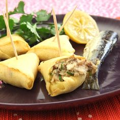 #Sardines à #huile : recette de samoussa de sardines