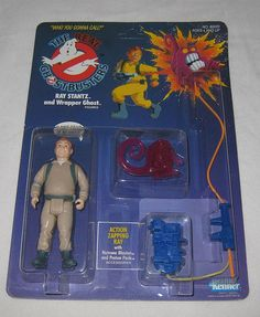 Ghostbusters Action Figure  (Ray Stantz, 1986 Kenner, The Real Ghostbusters Figures)