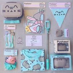 """13.3k Likes, 145 Comments - Pusheen (@pusheen) on Instagram: """"Check out these amazing goodies from the spring #Pusheenbox! Which item is your fav? #regram via…"""""""