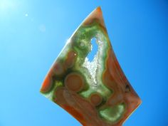 Old Stock Ocean Jasper Cabochon by ColumbiaRiverGems on Etsy, $124.00