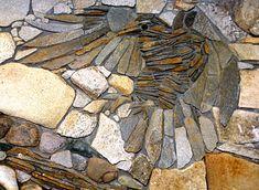 stonework eagle
