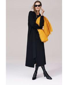 Bilde 1 fra LANG KÅPE MED BELTE IDENTITY COLLECTION fra Zara