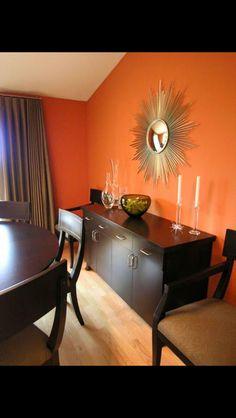 Gold and red living room with puzzle shelving | Metropolitan Design Home Design Sofa W Orange Html on facebook orange, twitter orange, word orange, jpeg orange, ajax orange, microsoft orange,