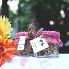 Eco-Friendly Wedding Favours