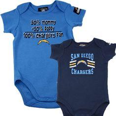 San Diego Chargers Onesies