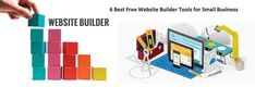 6 Best Free Website Builder Tools for Small Business 2019 Business Website Builder, Web Business, Business Branding, Online Business, Web Design Tips, Site Design, Custom Website, Free Website, Best Wordpress Themes