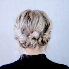 Super CUTE & EASY low boho updo for short/medium hair. This hairstyle is perfect for date night and of course Valentine's Day❣️ Music:…
