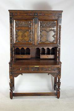 Sold Vintage English Walnut Jacobean Style by TheYardleyCottage, $1700.00