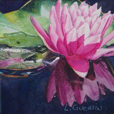 Louise Guertin Miroir-miroir Watercolor
