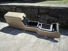 Price:$99.95 Free shipping to anywhere in the lower 48 ~ Center Console, #Jeep #Cherokee 84-96 (Tan) ~ #Jeepparts #Mopar #Repair #DIY #BecauseJeep