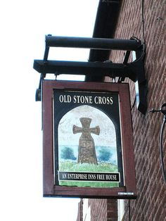 Tamworth Stone Cross Pub Sign