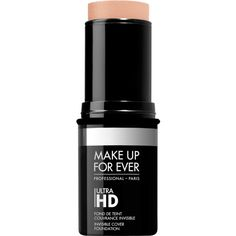 Ultra HD stick foundation ❤ liked on Polyvore featuring beauty products, makeup, face makeup, foundation and creamy foundation