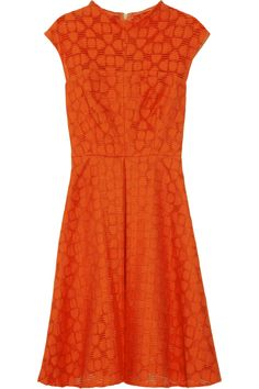 Avery cotton-blend dress by Milly