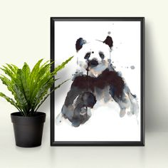 Posters and prints My Drawings, Panda, Batman, Superhero, Illustration, Prints, Posters, Fictional Characters, Animals