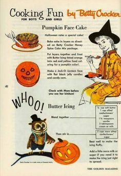 Halloween Cooking Fun with Betty Crocker