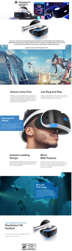 #Sony #PSVR - The #MostAnticipated #Tech #Gadget Of #2016 - Everything You Need To Know About #Sony #PlaystationVR #Prices in UK & US, PS VR #Release Date, #Playstation #VR #Games & #Specs + #INFOGRAPHIC