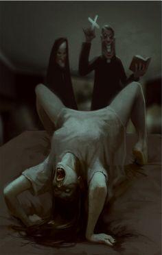 Exorcism by glooh.deviantart.com on @deviantART