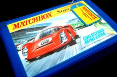 Vintage Toys Wanted by the-toy-exchange- The perfect storage case for your early 1969 Lesney Matchbox Superfast cars.