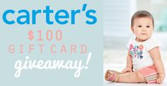 Kick Off the Summer with a Carters $100 Gift Card Giveaway!