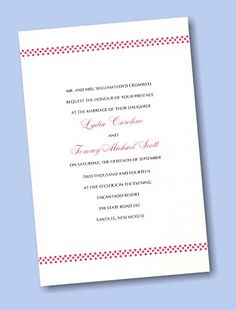 Create Your Own Wedding Invitation Suite 15