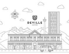 "Check out new work on my @Behance portfolio: ""Consumables for Deville Coffee Calgary"" http://be.net/gallery/33999040/Consumables-for-Deville-Coffee-Calgary"