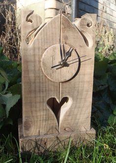 Driftwood Heart Clock £70.00