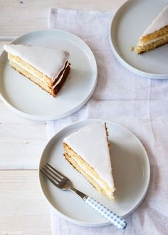 Lemon and Lavender Buttermilk Cake | by Tessa Huff for TheCakeBlog.com