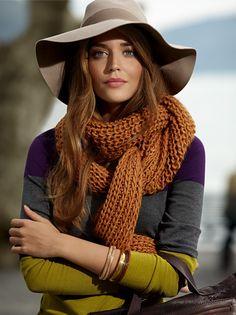 Betty Barclay, Hat, scarf...2012.