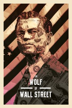 thepostermovement:  The Wolf of Wall Street by MessypandasPrints available here