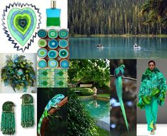Julie Howlin Aura Soma Inspiration Equilibrium bottle #9 Turquoise Green Crystal Cave, Heart within a heart