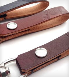 handmade leather key holder - Google Search