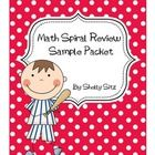 Freebie!  This Daily Math Spiral Review Sample  is a great way to provide extra practice and review of various math skills taught in second grade. I like to ...