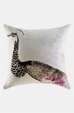Tracy Porter 'Poetic Wanderlust' Velvet Peacock Pillow | Nordstrom