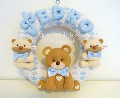 Guirlanda do Kit Maternidade ursos Pedro - produzido Agosto 2014