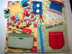 Fidget Quilt for Dementia Alzheimer's and others. by TotallySewn