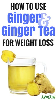 From revving your metabolism to speeding up digestion and aiding in weight loss, ginger is a powerful little super nutritent! http://avocadu.com/use-ginger-ginger-tea-weight-loss/