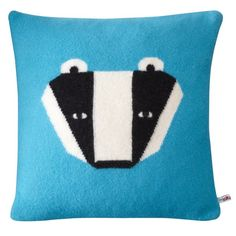 Donna Wilson's Badger cushions. Me likey. Me likey so much that I couldn't resist from pressing the 'check out' button. Happy days.